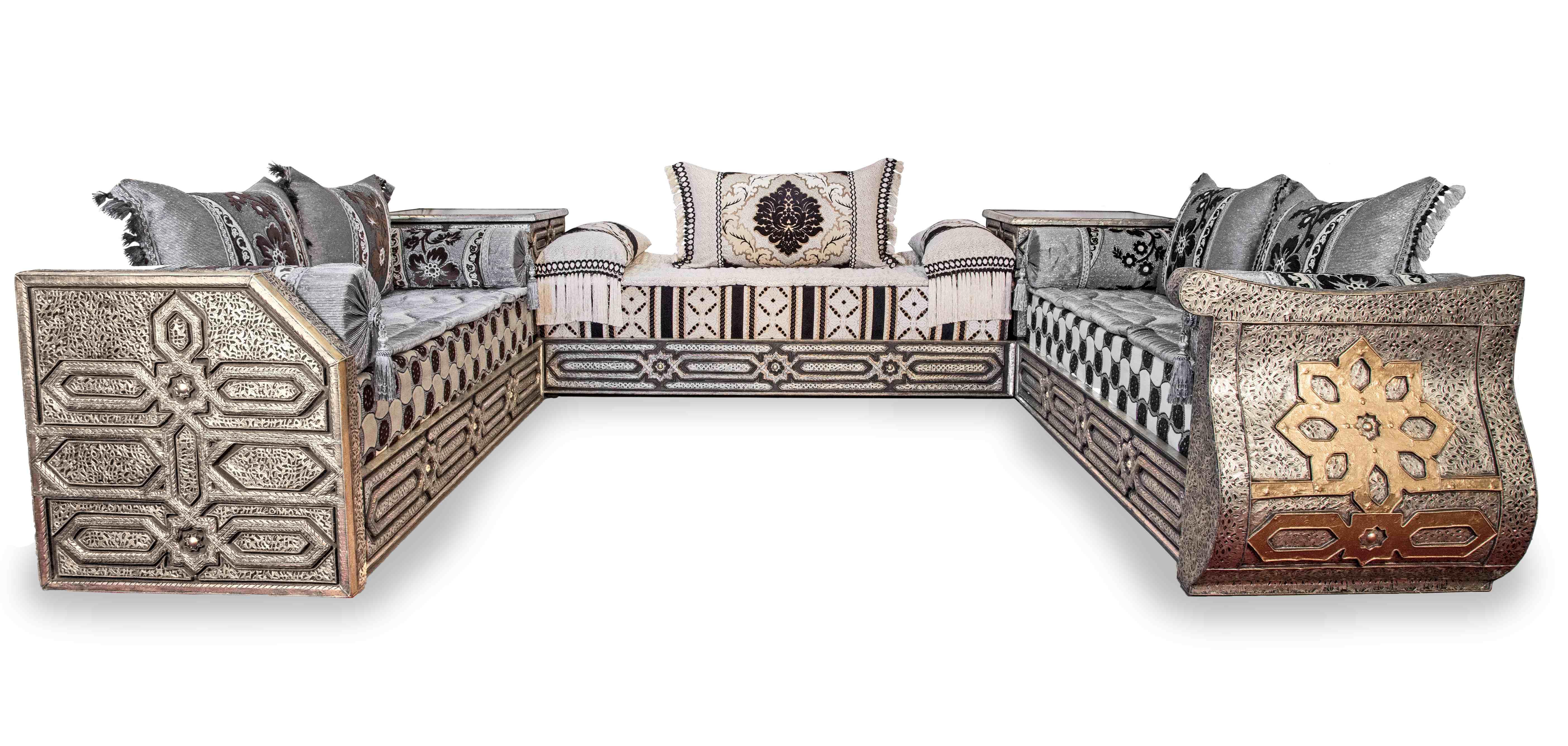 salon en bois en ravissant design