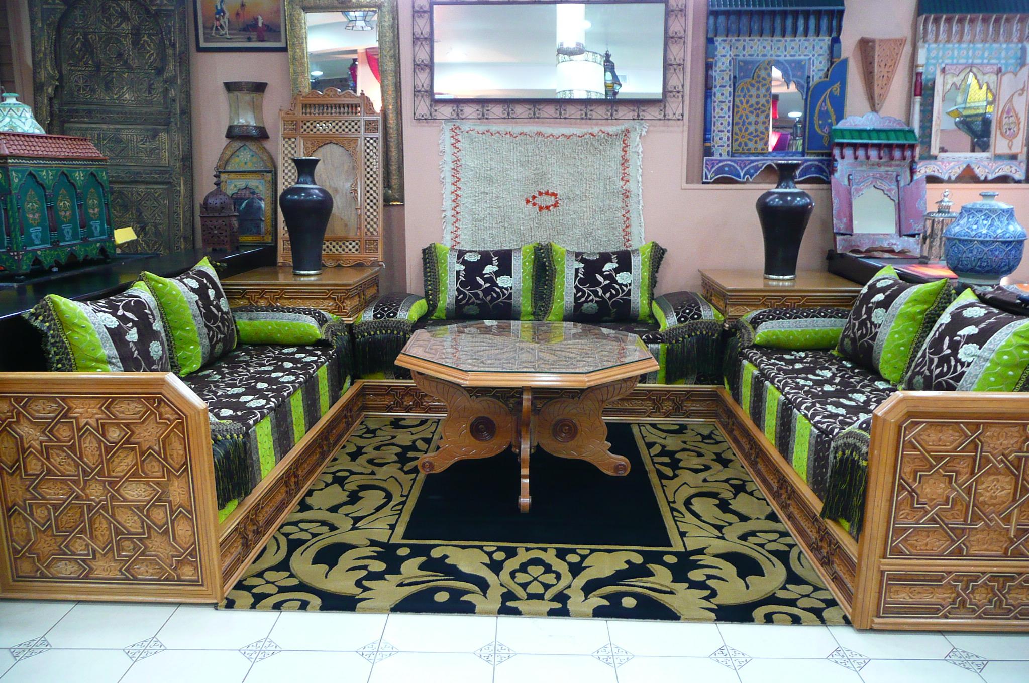 salon marocain du fès