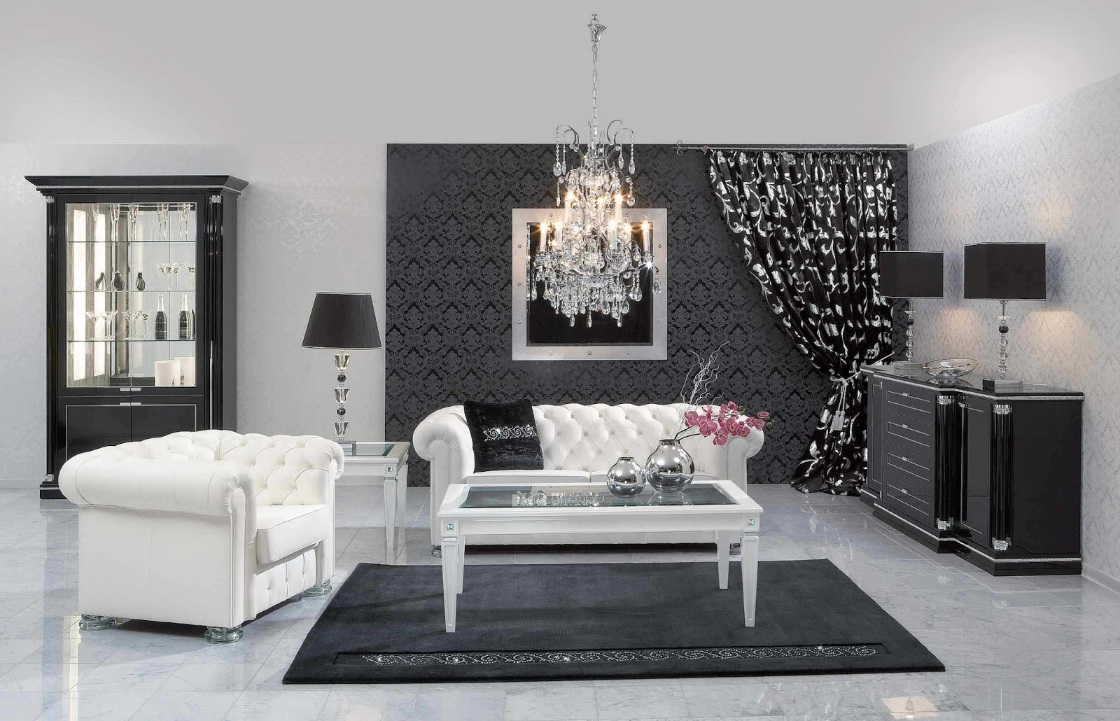salon marocain 2016 photo d cor salon marocain. Black Bedroom Furniture Sets. Home Design Ideas