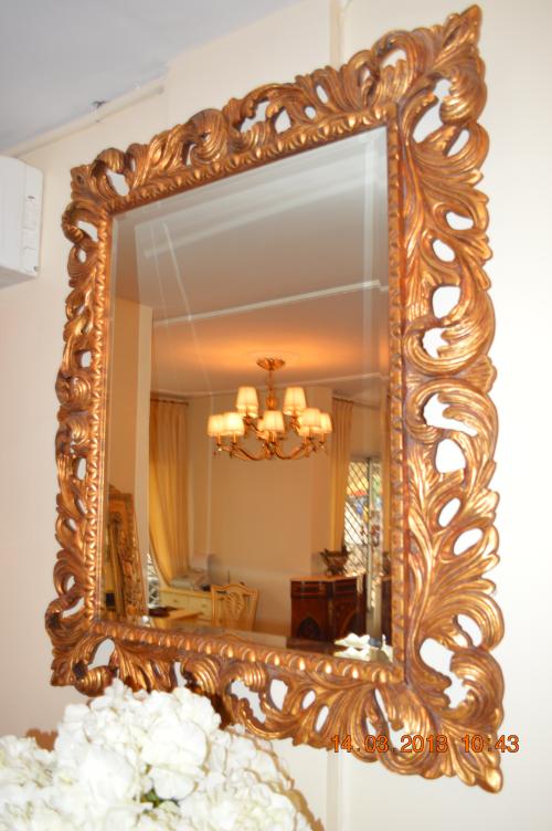 Miroir lumineux Dore Rectangulaire