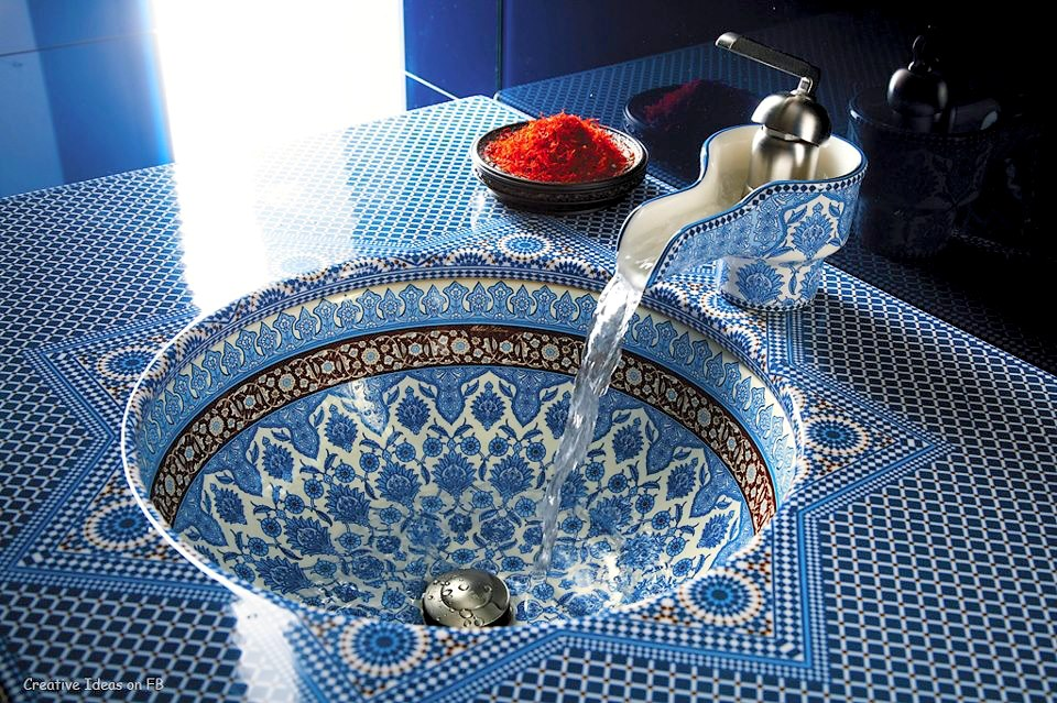 artisanat marocain et décoration en zellige