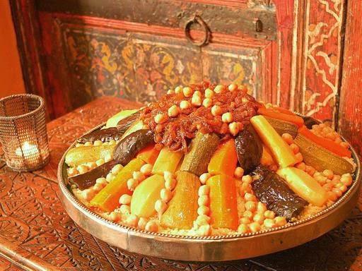 couscous marocains en tajine