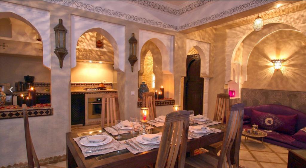 déco marocain du table a manger