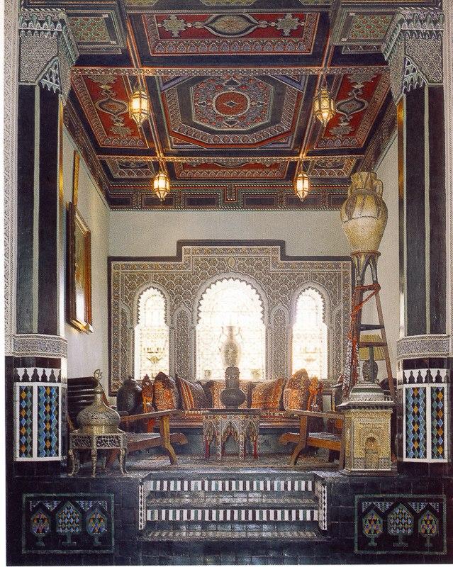 décoration d'intérieure marocain salon traditionnel