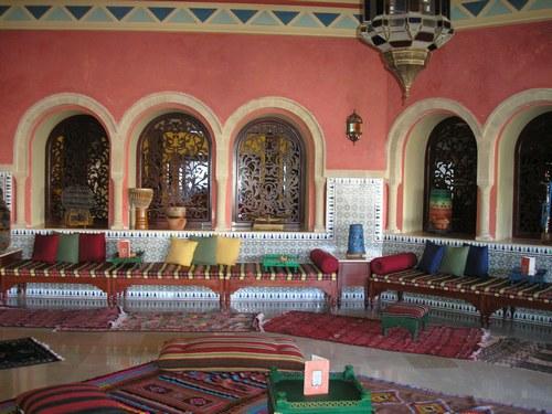 Spécialiste de salon marocain en Tunisie - Décor salon marocain