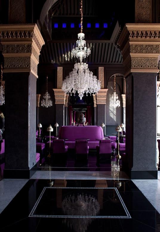 déco du salon marocain moderne