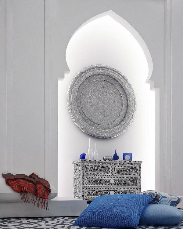 décoration du salon en mode marocain aquatar