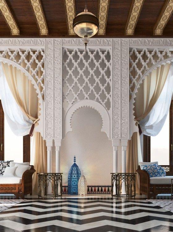 décoration marocain du mimar interiors
