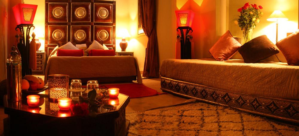designe du lit marrakech riad