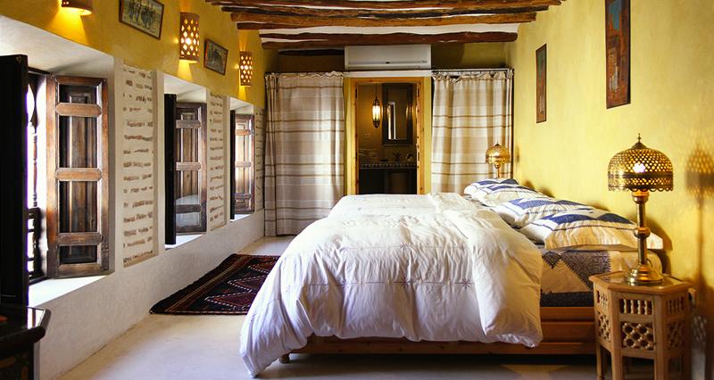 lit en riad marrakech