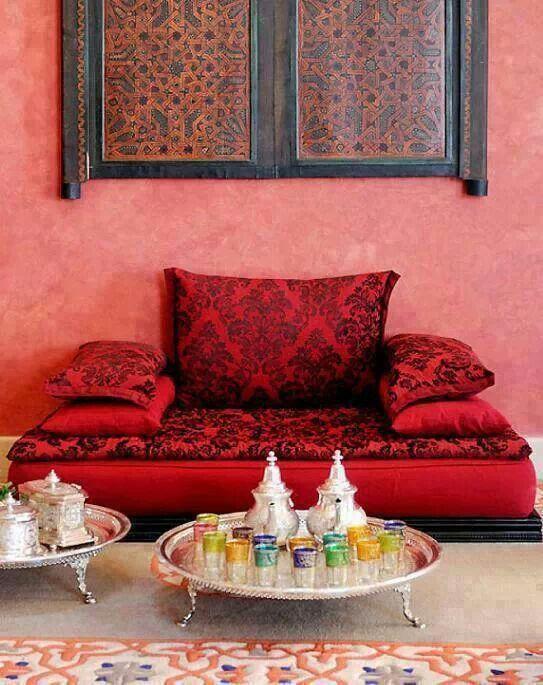 magnifique designe du salon marocain
