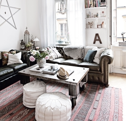 salon en décoration marocain