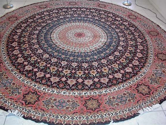 tapis a l'aire d'une tableau
