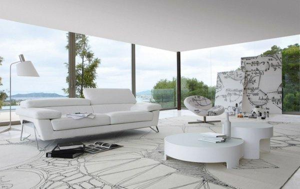 Les nouvelles Collections de canapés modernes luxueux  Décor salon