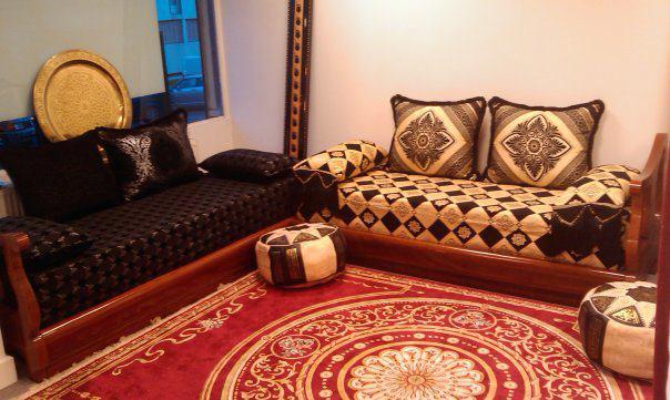 Salon marocain moderne pas cher prix et disponibilit s for Lhaf salon marocain