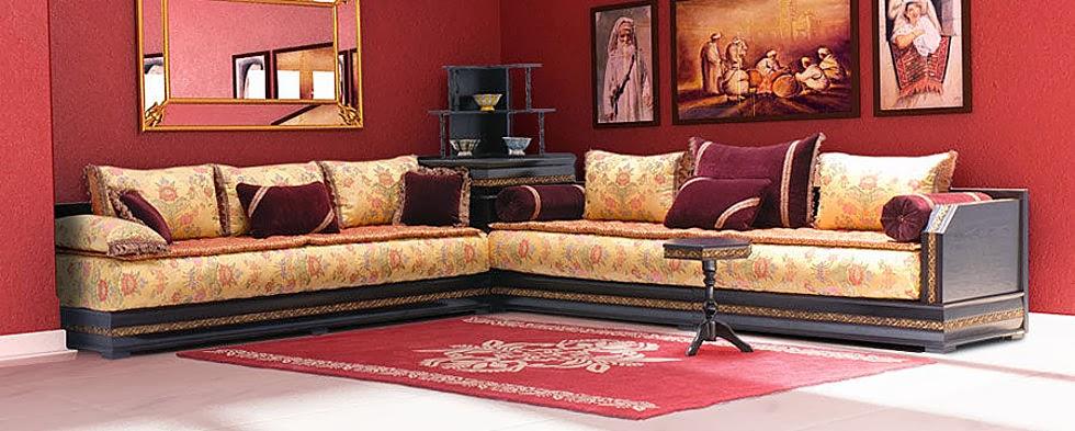 decoration maison salon marocain. Black Bedroom Furniture Sets. Home Design Ideas
