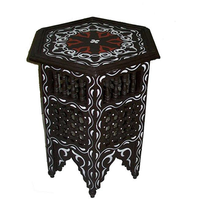 table cendrière moucharabi