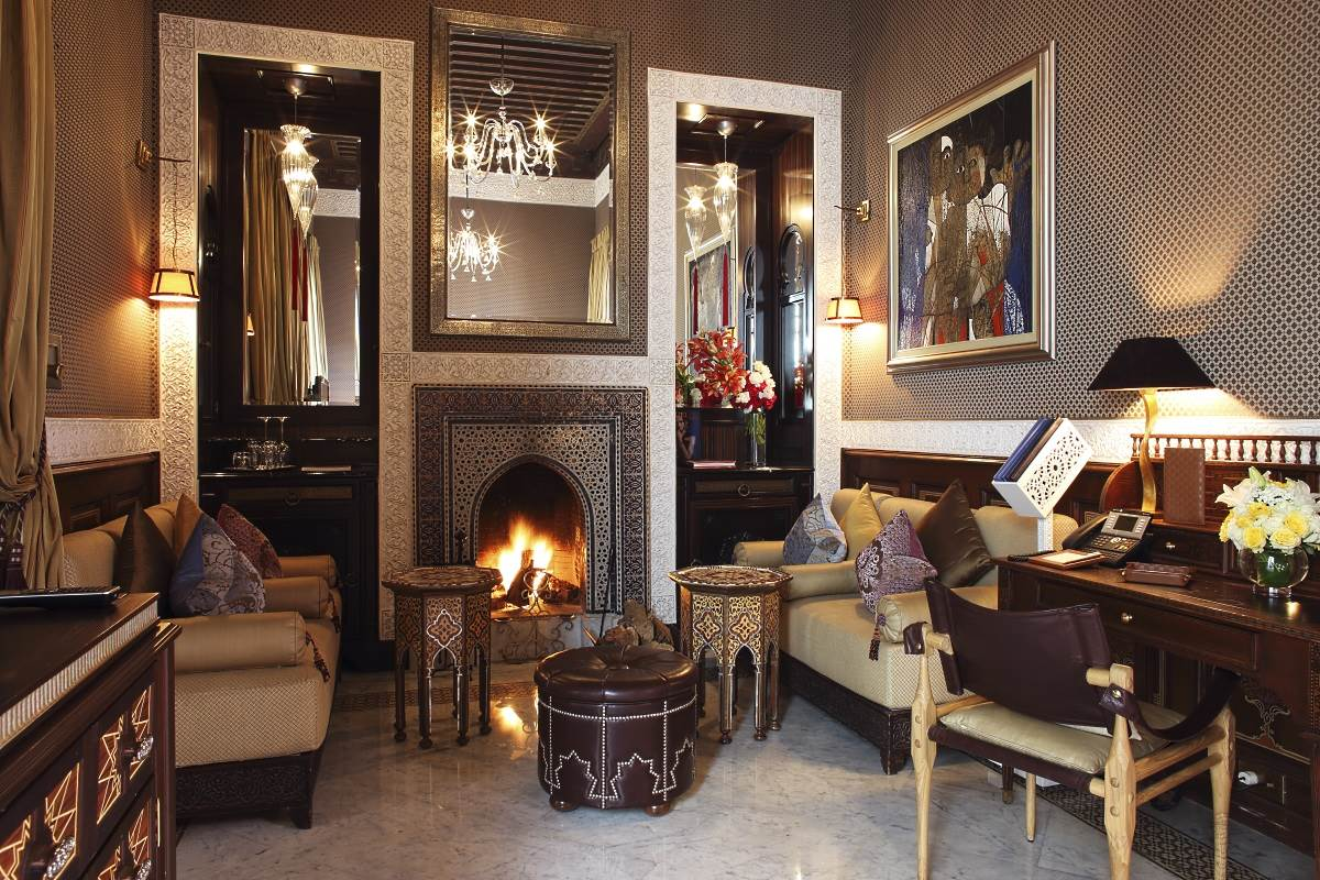 Salon marocain royal pour Riads moderne