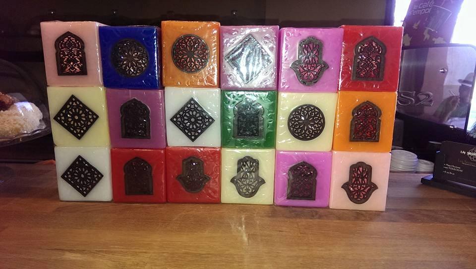 des bougies moderne pour salon marocain