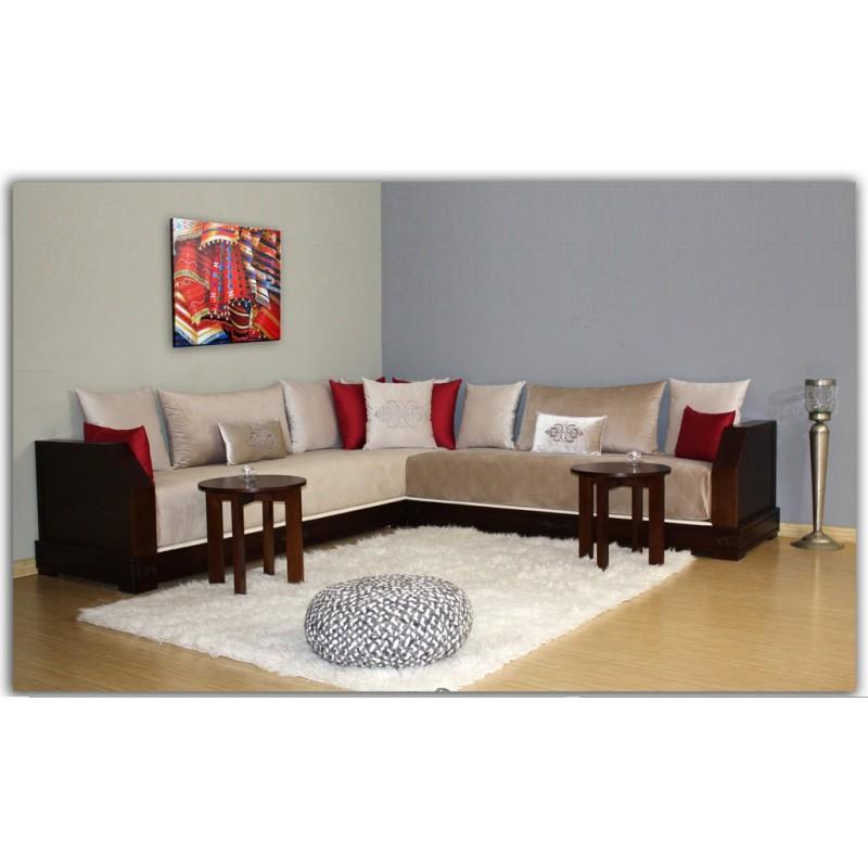 Excellent meuble pour am nager le salon marocain d cor for Lhaf salon marocain