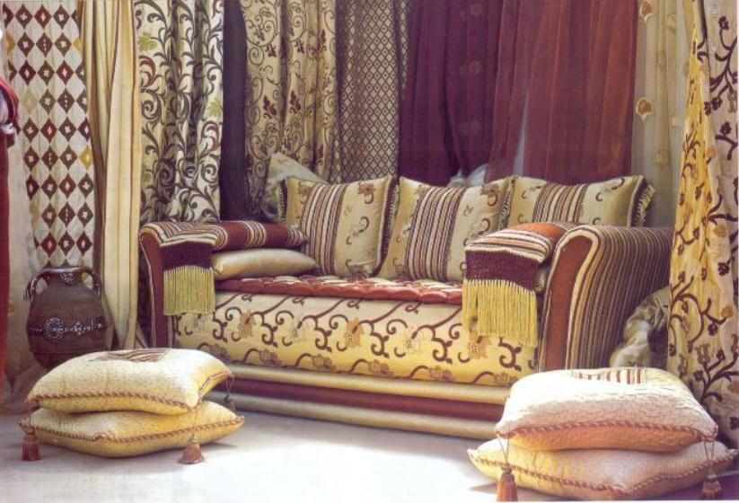 salon marocain très chic