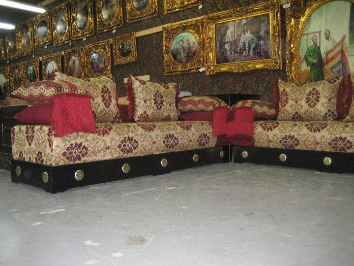 tissus benchrif de salons marocains traditionnels d233cor