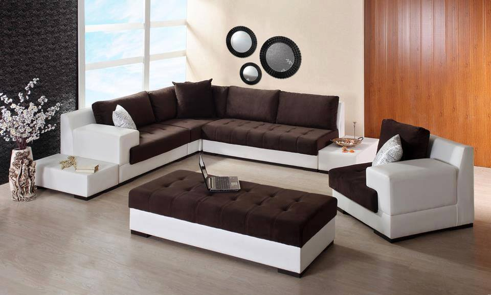 decoration salon moderne marocain. Black Bedroom Furniture Sets. Home Design Ideas