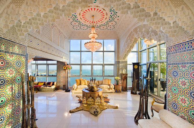 agréable-décoration-du-salon-marocain-2017