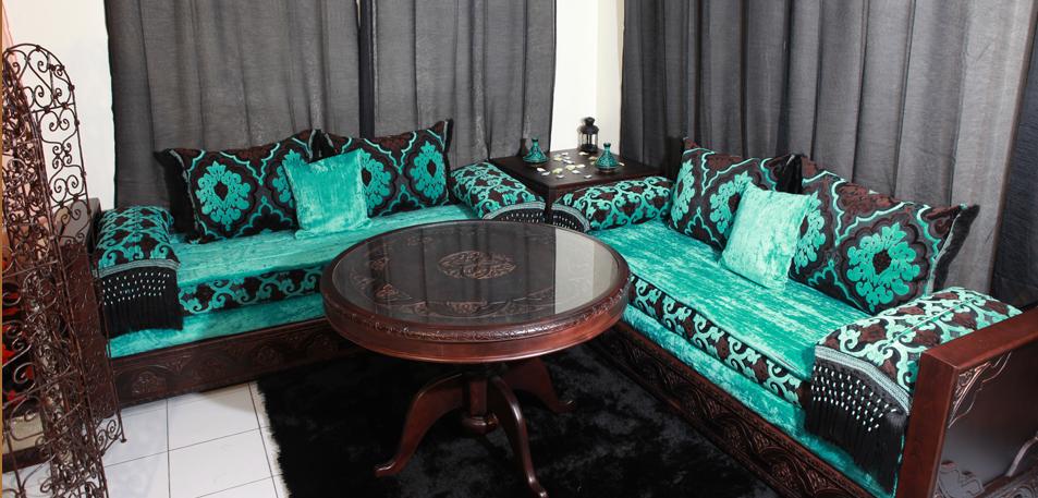 salon-marocain-vert-mode-2017