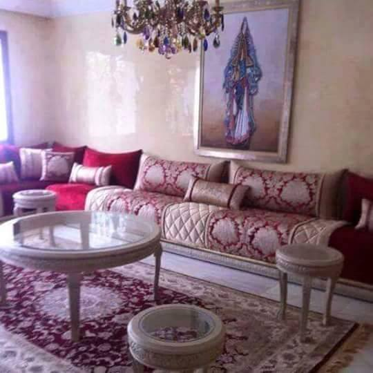 Salon marocain sur mesure magasin sp cialiste d cor for Decoration du salon