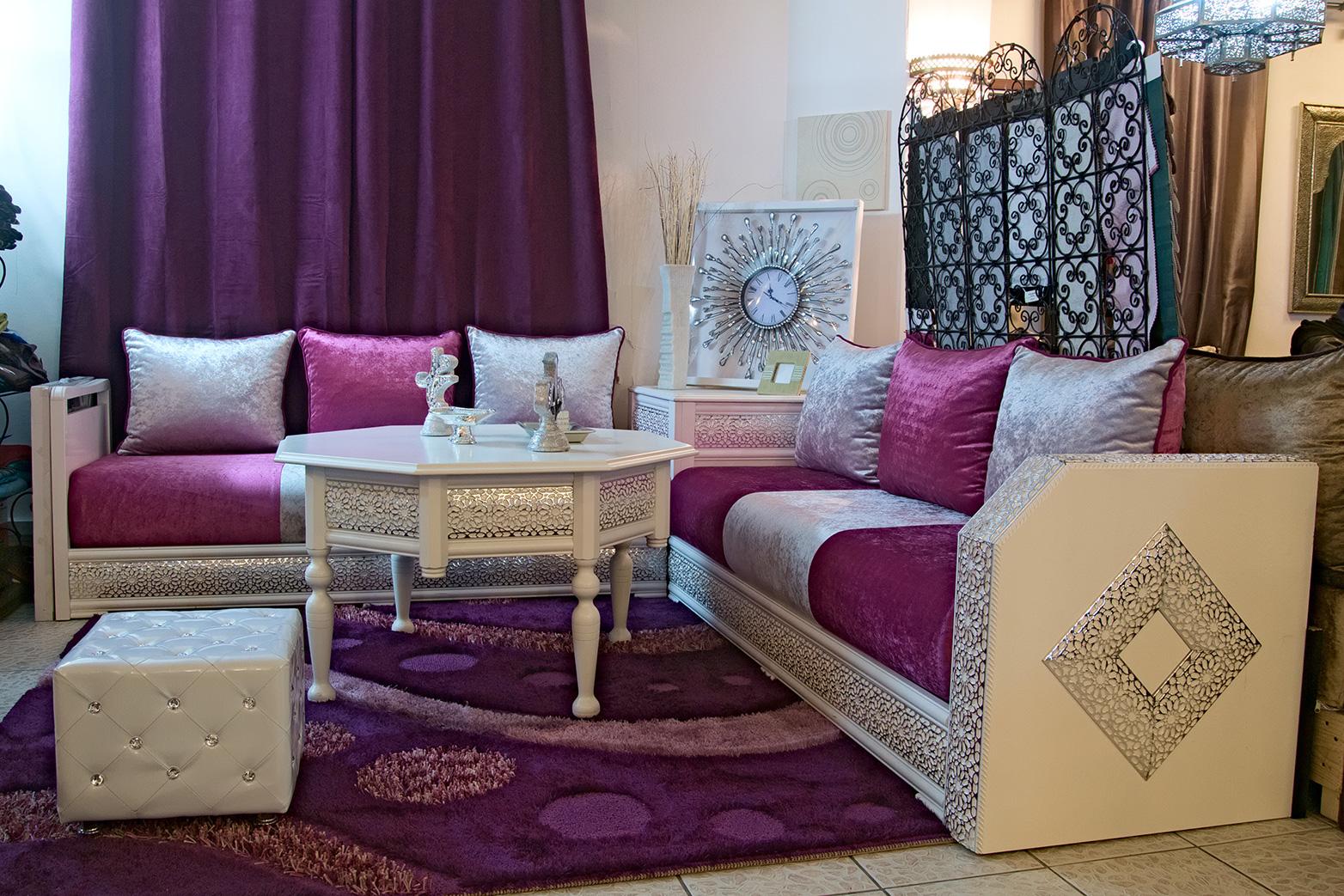 Salon marocain pas cher vendre en france d cor salon marocain - Faire un salon marocain ...