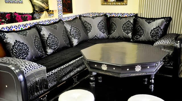 salon marocain moderne 2017 d cor salon marocain. Black Bedroom Furniture Sets. Home Design Ideas