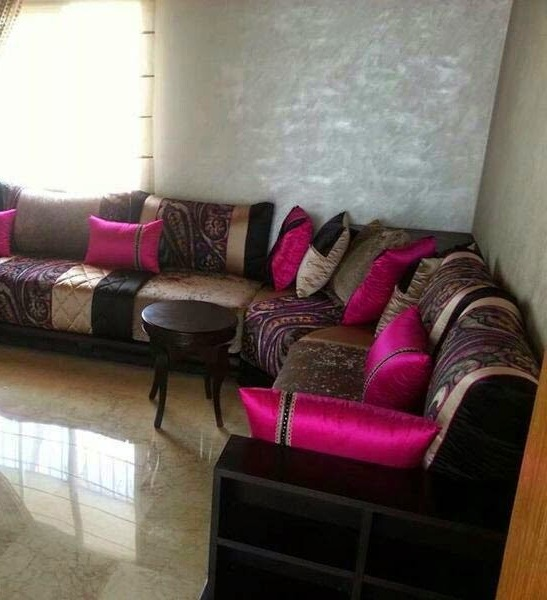 Meubles pour salon marocain moderne d cor salon marocain for K meuble salon marocain
