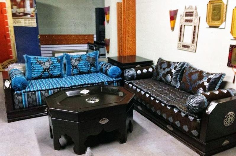 nouvelle collection de salon 2017 style marocain d cor. Black Bedroom Furniture Sets. Home Design Ideas