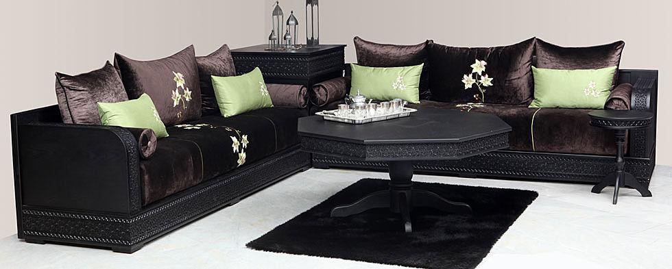 stunning salon marocain moderne bruxelles photos. Black Bedroom Furniture Sets. Home Design Ideas