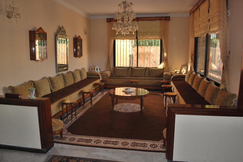 Décoration intérieure de salons marocains 2017 - Décor salon marocain