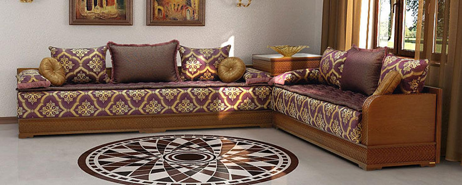 Conception design moderne de salon marocain d cor salon for K meuble salon marocain