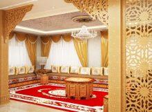 salon traditionnel - Décor salon marocain