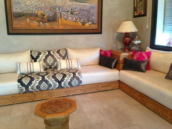 Couture De Salon Marocain Sur Mesure Decor Salon Marocain