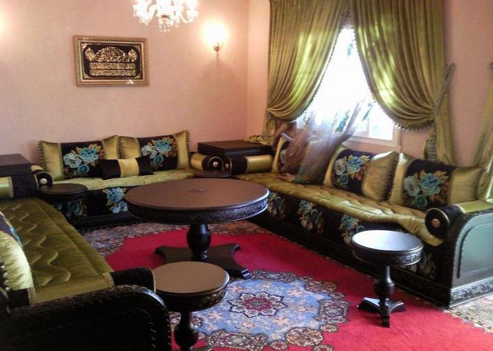 Salon marocain oriental de luxe d cor salon marocain - Decor oriental design interieur luxe antonovich ...
