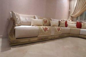 Décoration de salon marocain design moderne